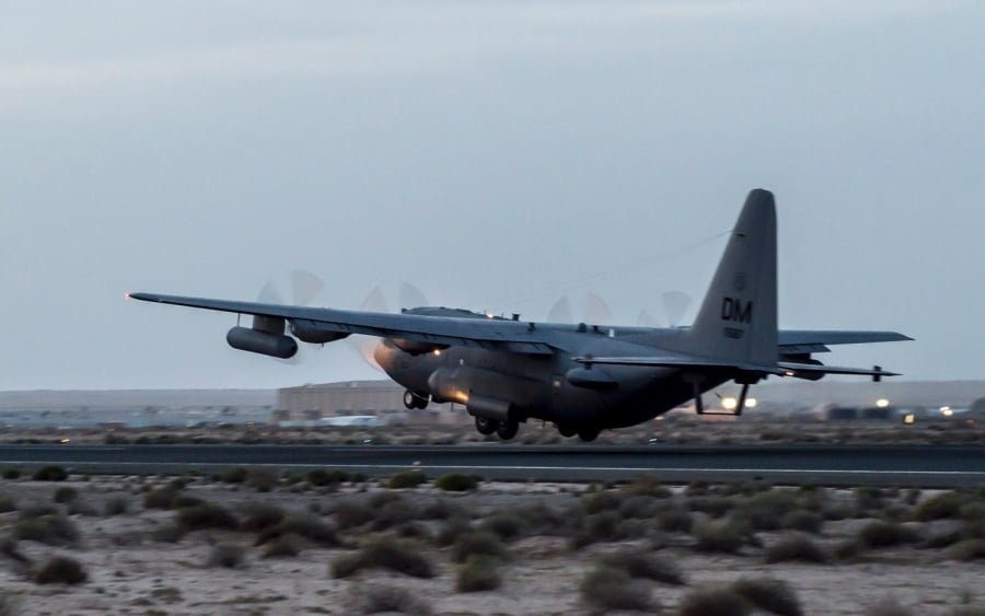 EC-130H focuses on electronic warfare against Islamic State