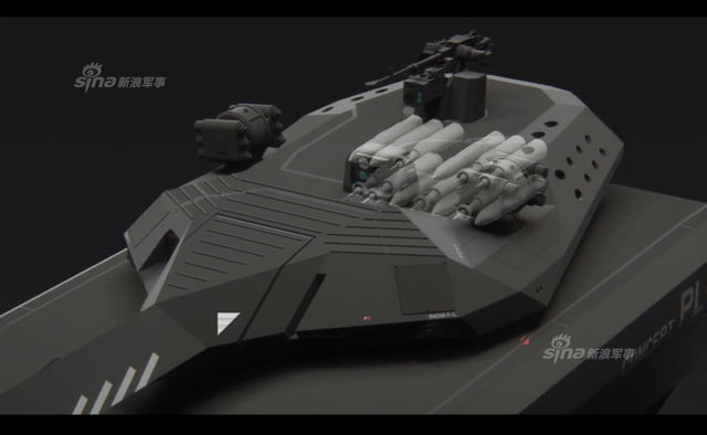The PL-01 can also be equipped with satellite navigation, friend-foe equipment.