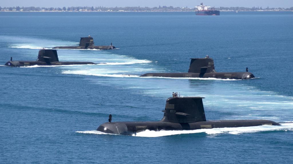 Collins-class diesel-electric submarines