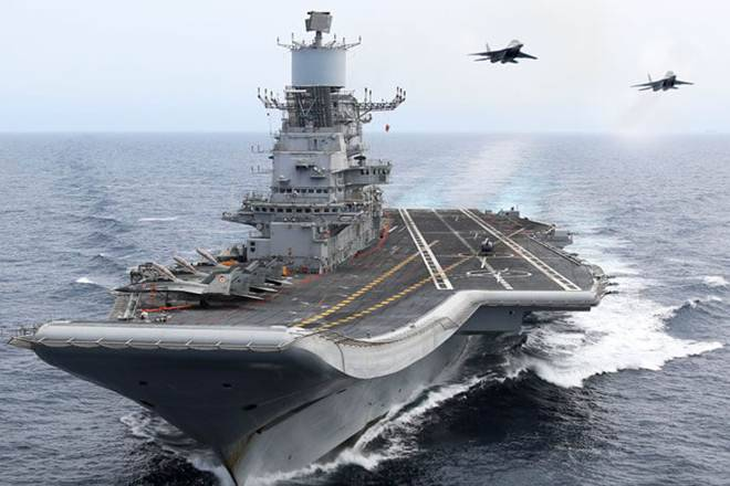 india aircraft carrier